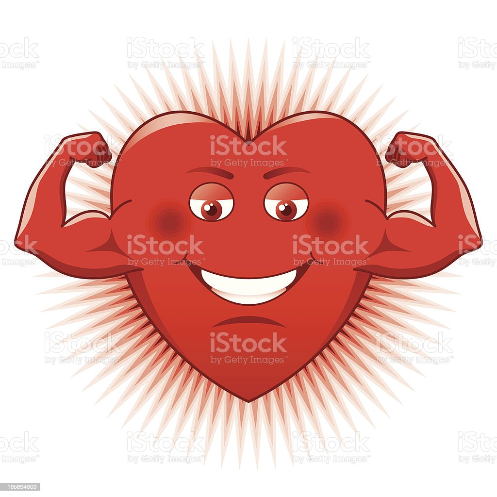 Power of Love royalty-free stock vector art