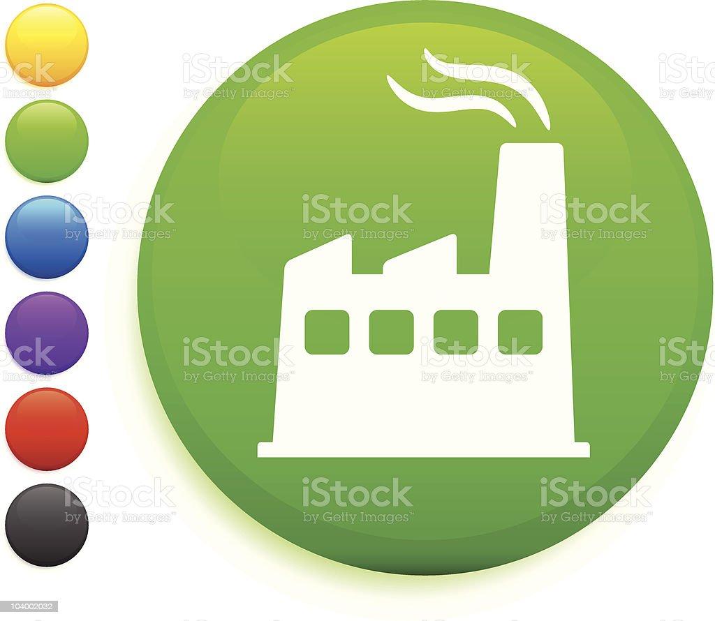 power plant icon vector art illustration