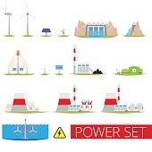 Power plants set