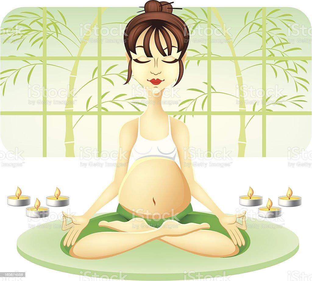Йога в картинках для беременных