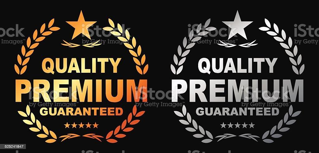 Premium Guaranteed vector art illustration
