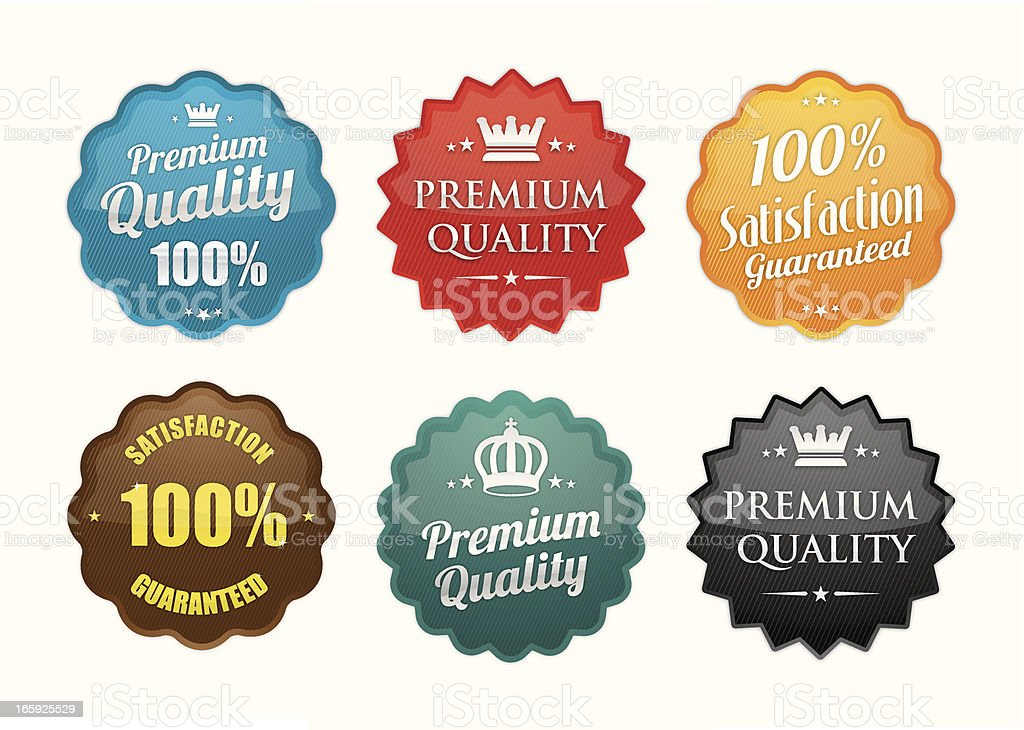 Premium Quality royalty-free stock vector art