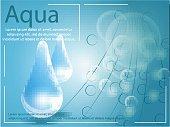 Premium shining serum droplet. Vector illustration.