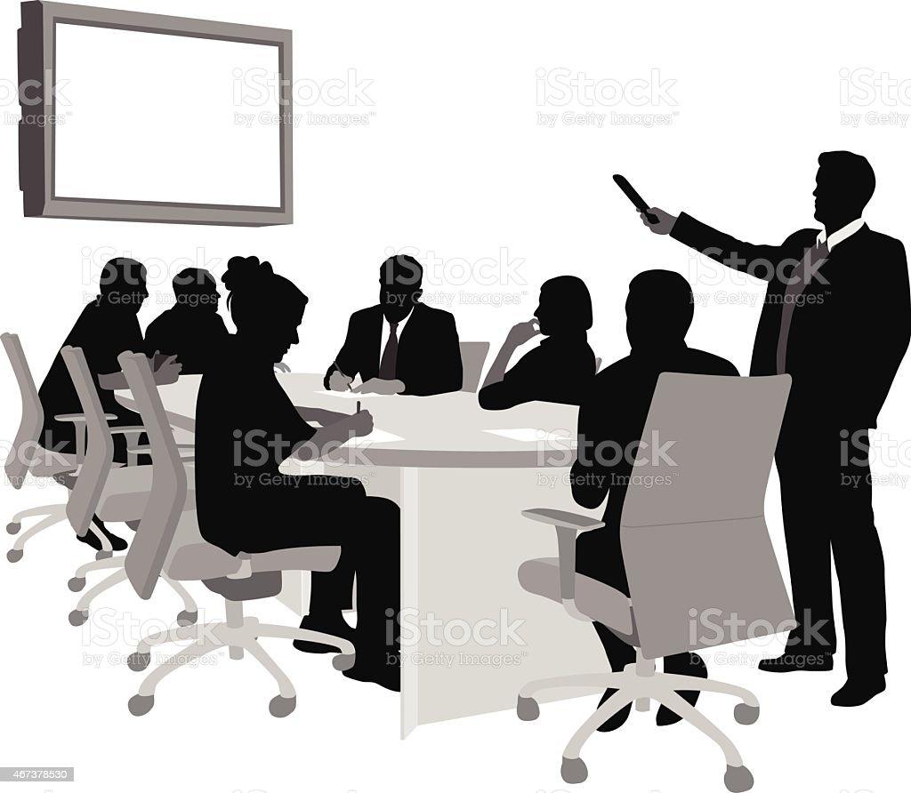 PresentationTechnology vector art illustration
