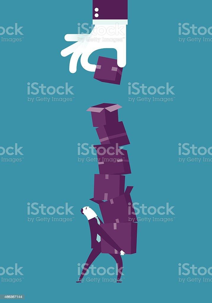 Pressure vector art illustration