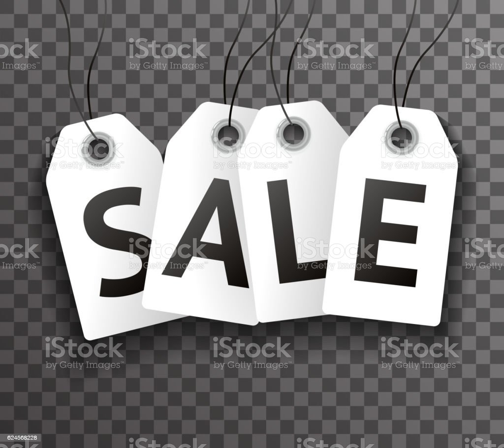 Price Sale Text Symbol Labels Icon Transperent Background Template Vector vector art illustration