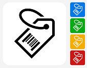 Price tag Icon Flat Graphic Design