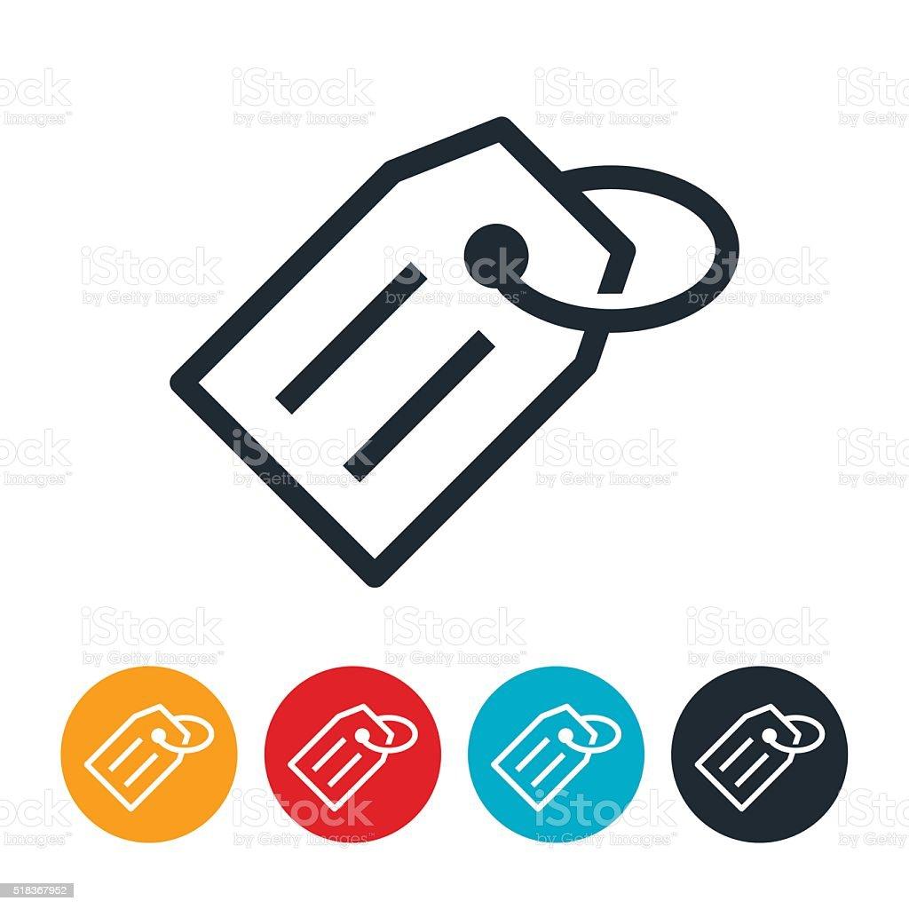 Price Tag Icon vector art illustration