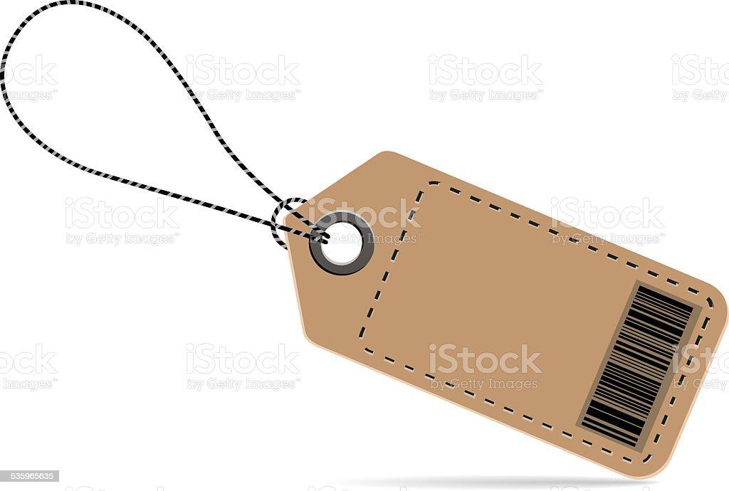 Price tag vector art illustration