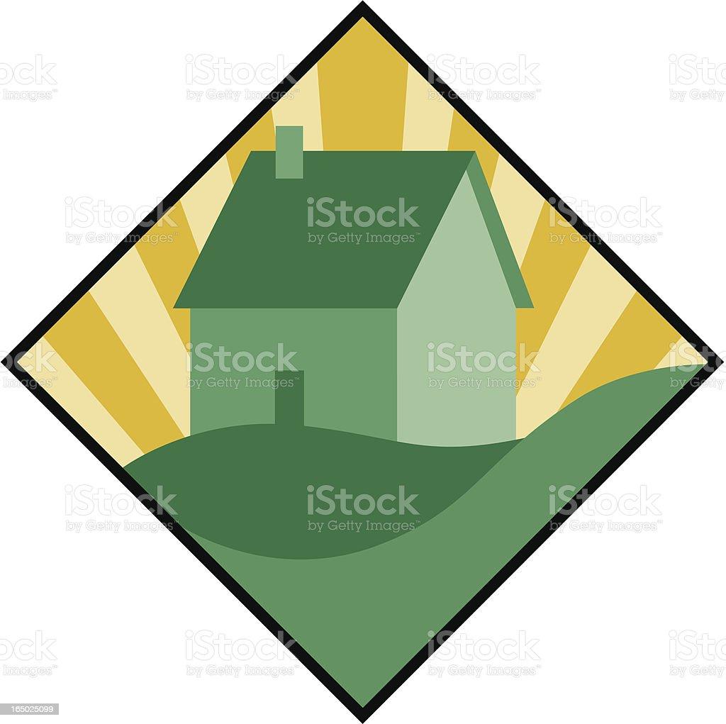Pride in Home royalty-free stock vector art
