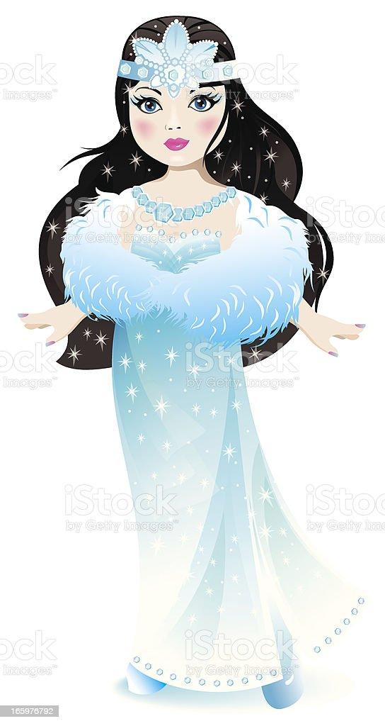 Princess. vector art illustration