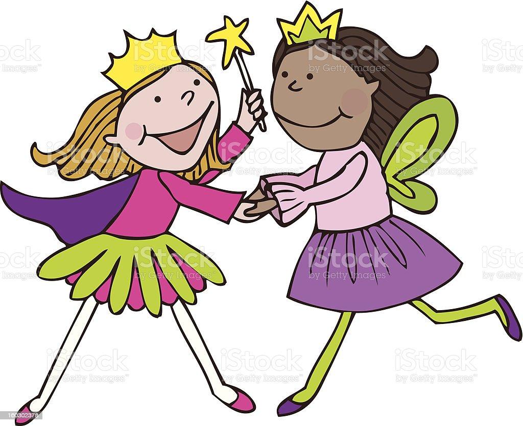 Princesses royalty-free stock photo