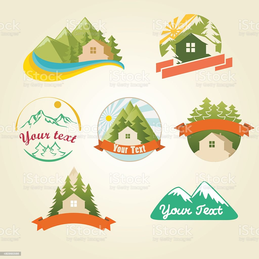 Print vector art illustration