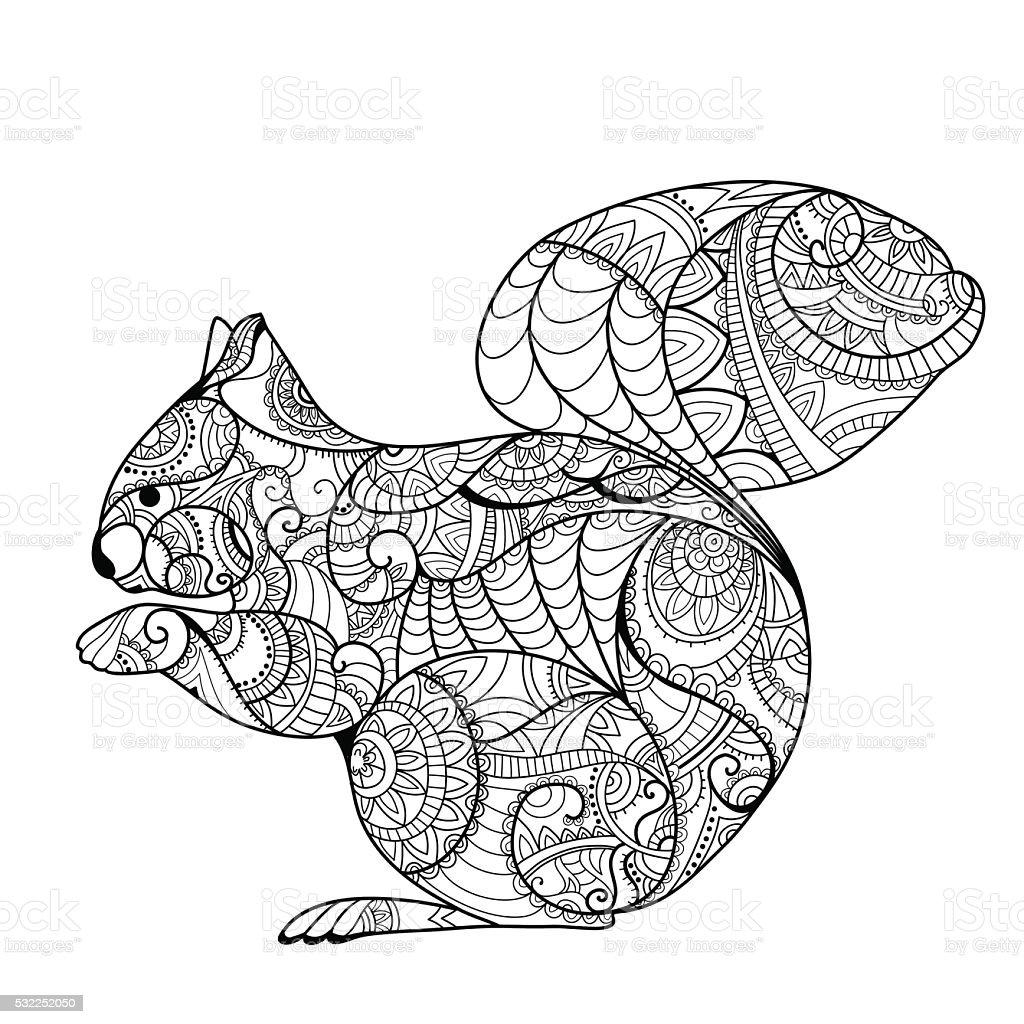 Print vector art illustration