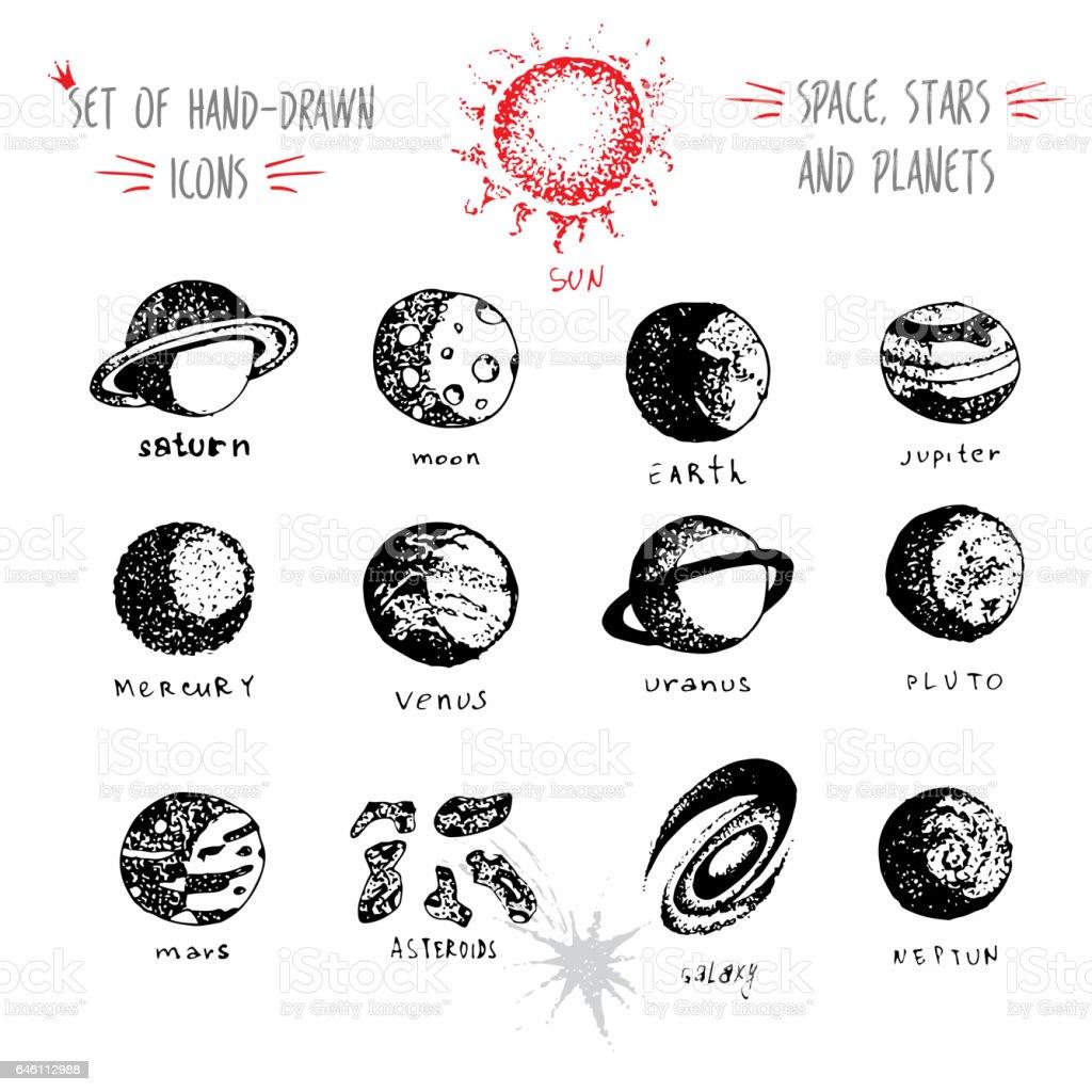 asteroid belt clip art  vector images  u0026 illustrations