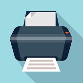 Printer icon.