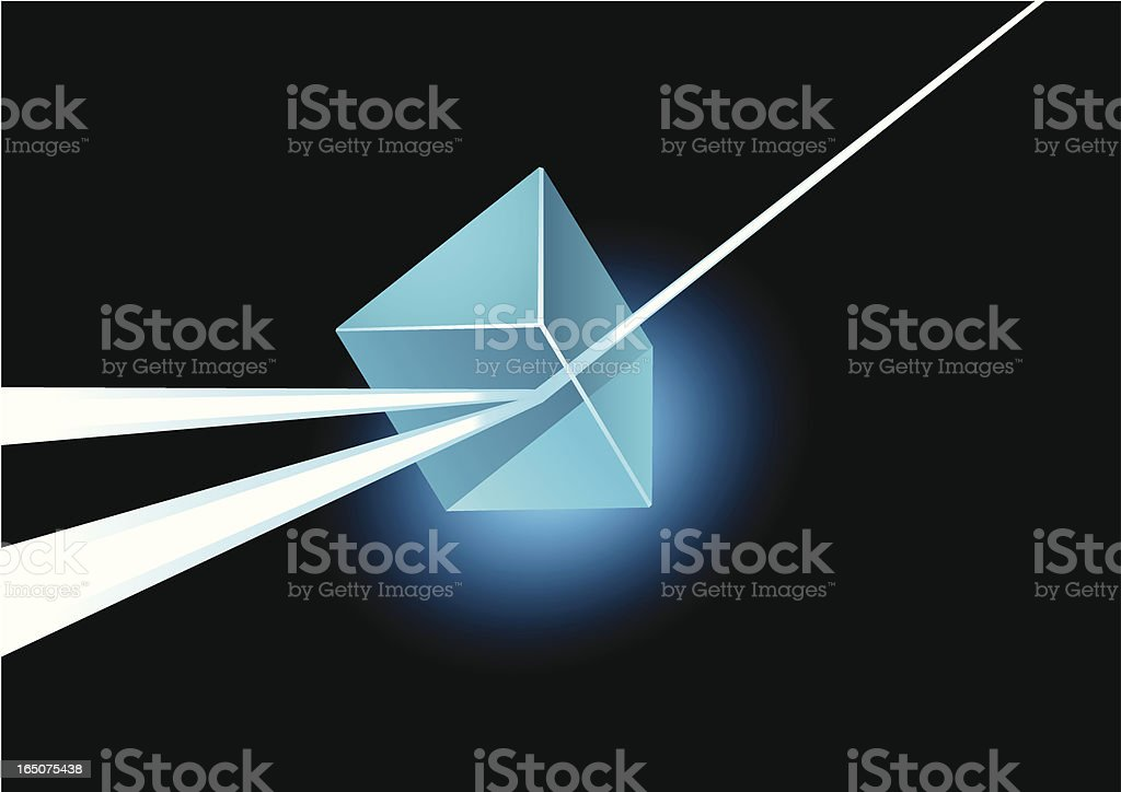 Prism royalty-free stock vector art