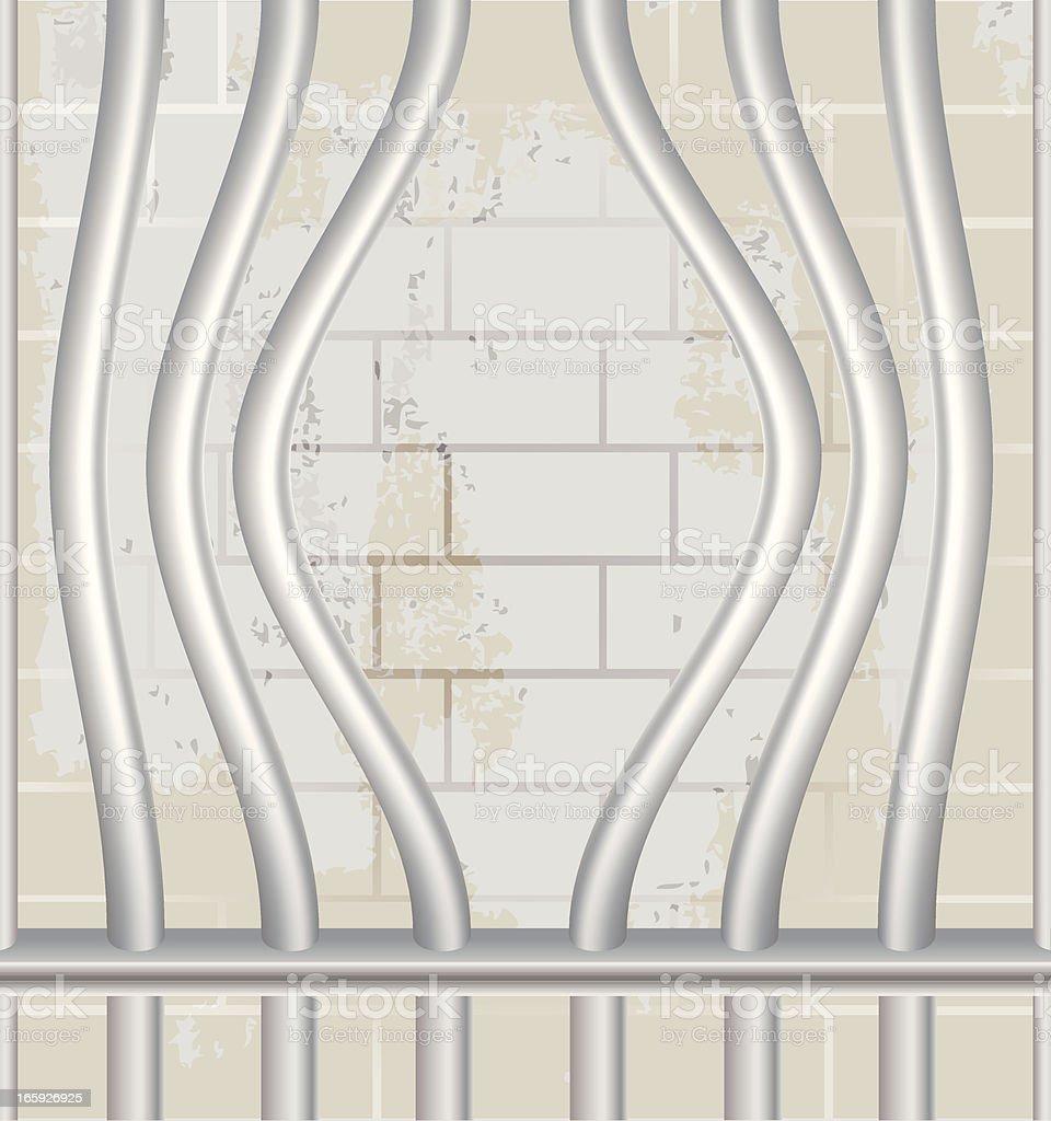 Prison Bars | Escape royalty-free stock vector art