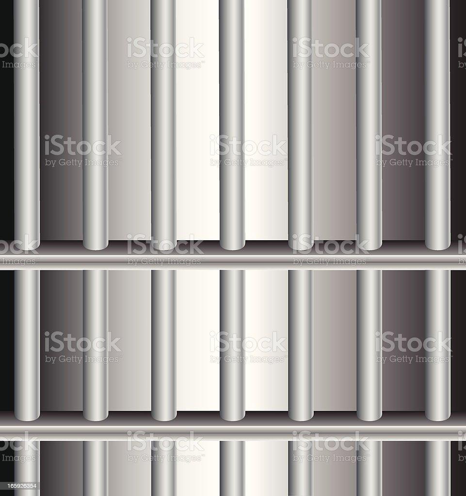 Prison Bars | Jail Cell vector art illustration