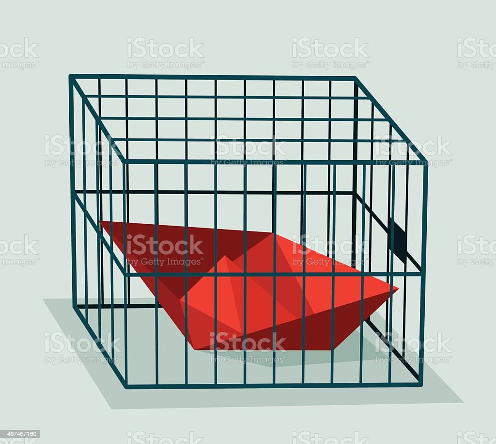 Prison, Ship-Illustration vector art illustration