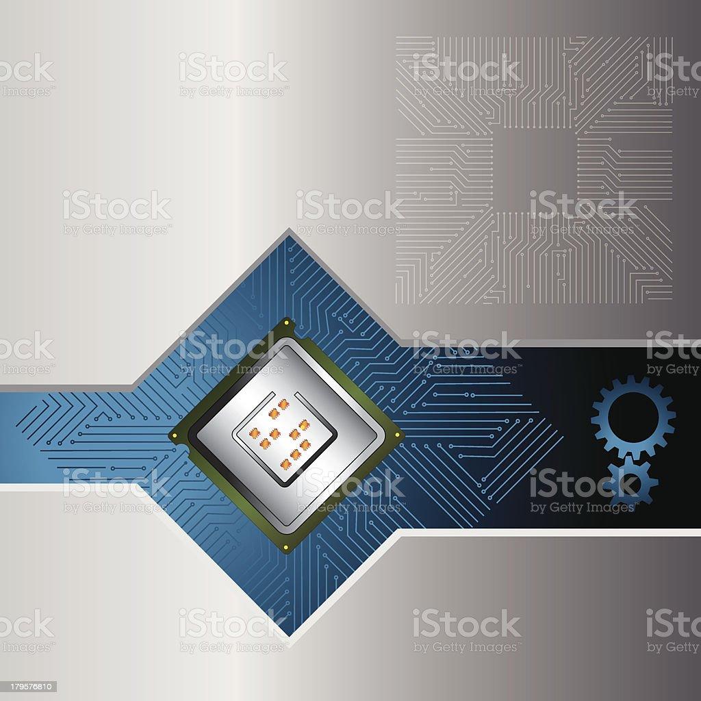 processor royalty-free stock vector art