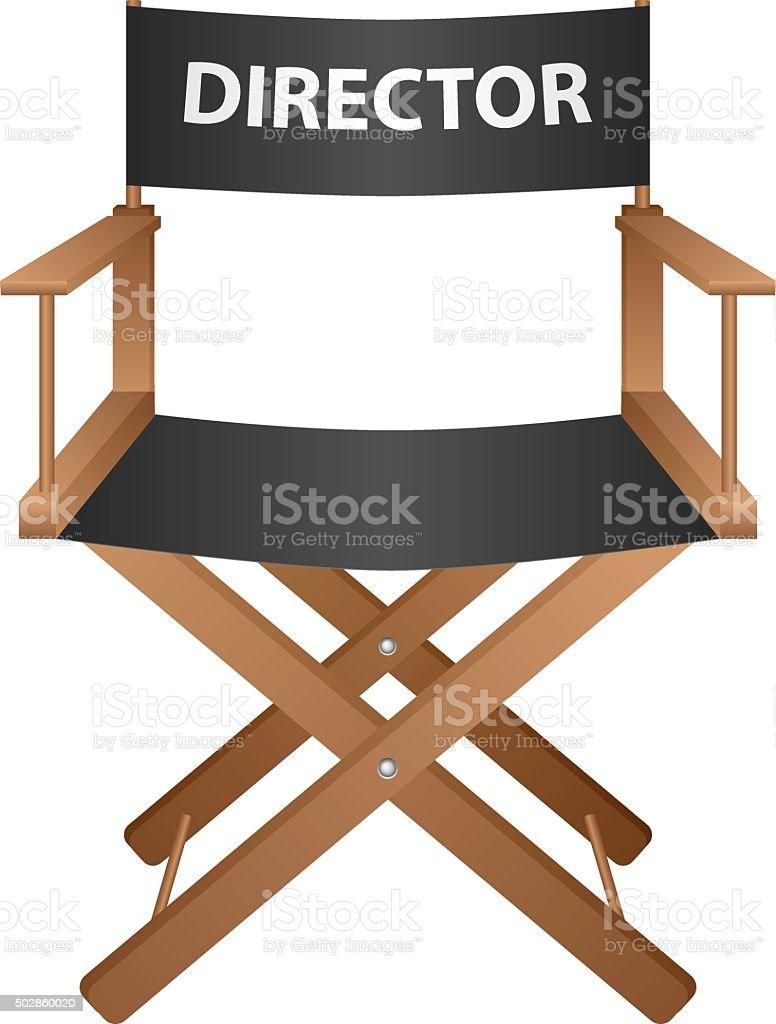 producer chair vector art illustration