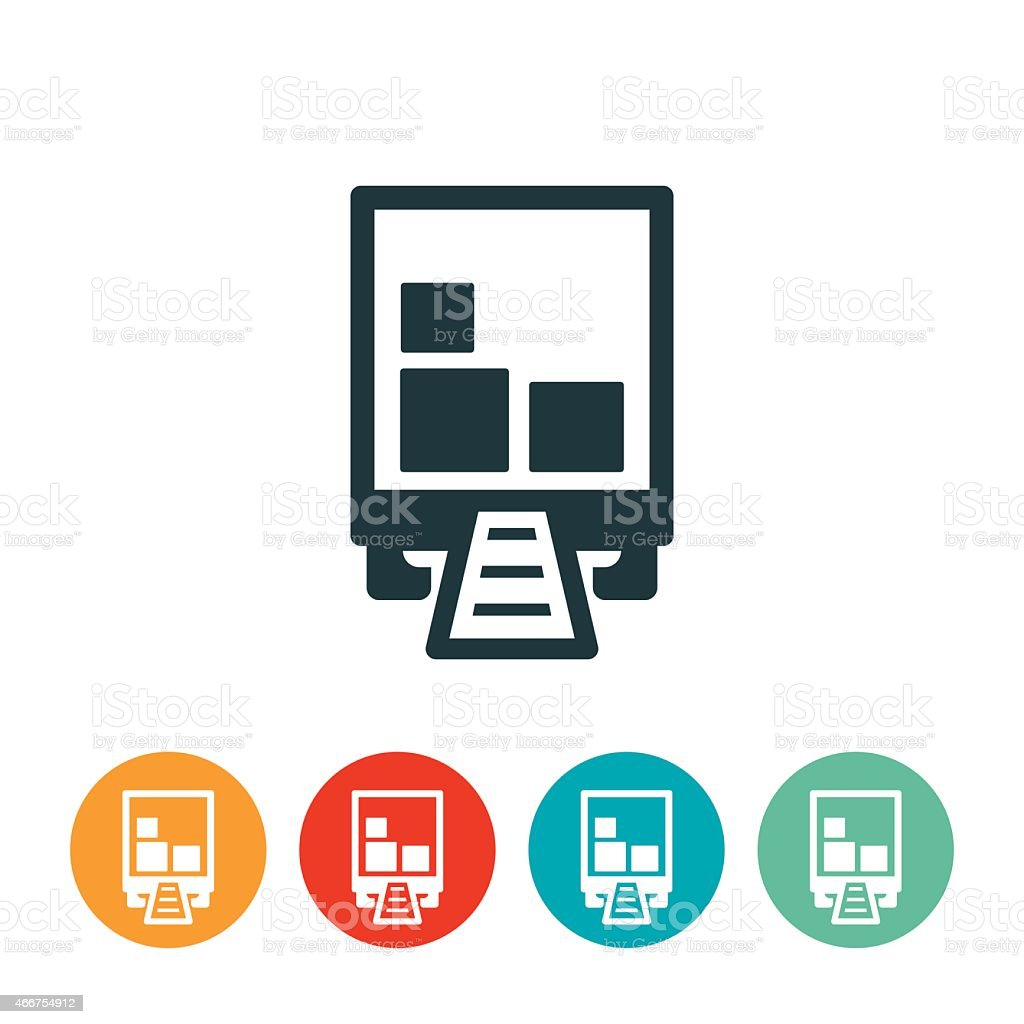 Product Distribution Icon vector art illustration