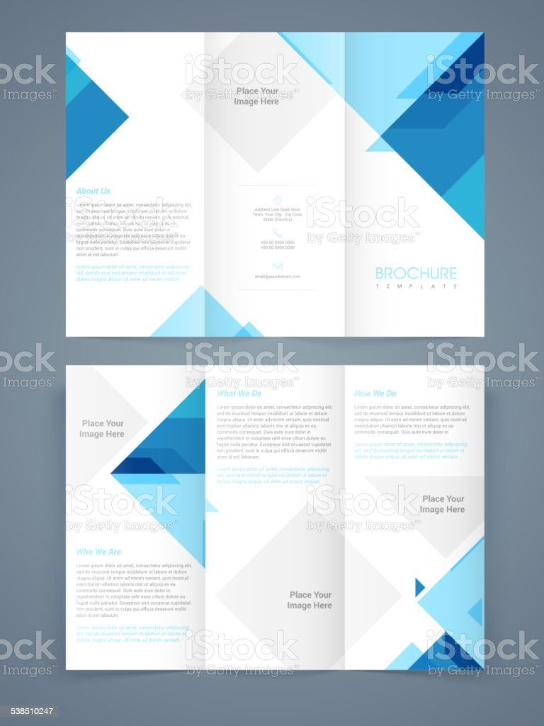 Professional business flyer, banner or template. vector art illustration