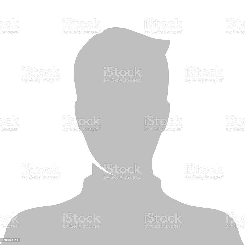 Profile picture vector illustration vector art illustration