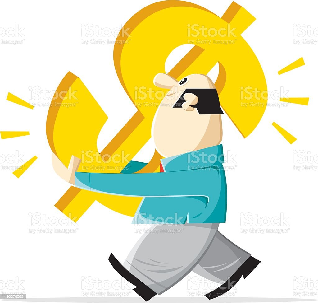 profit of the day royalty-free stock vector art