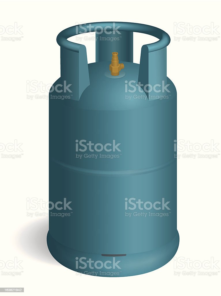 propane royalty-free stock vector art