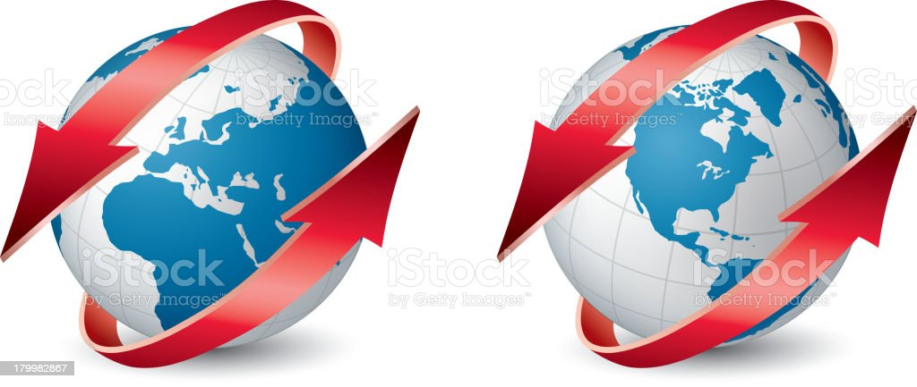 Protect earth royalty-free stock vector art