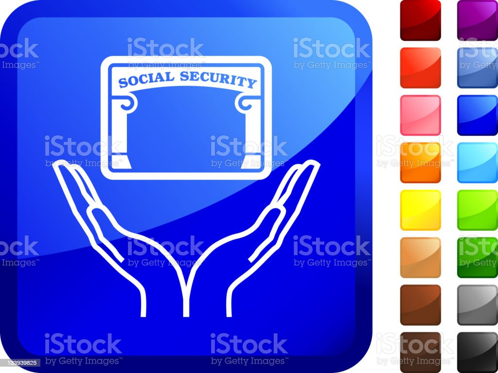 protecting social security internet royalty free vector art royalty-free stock vector art