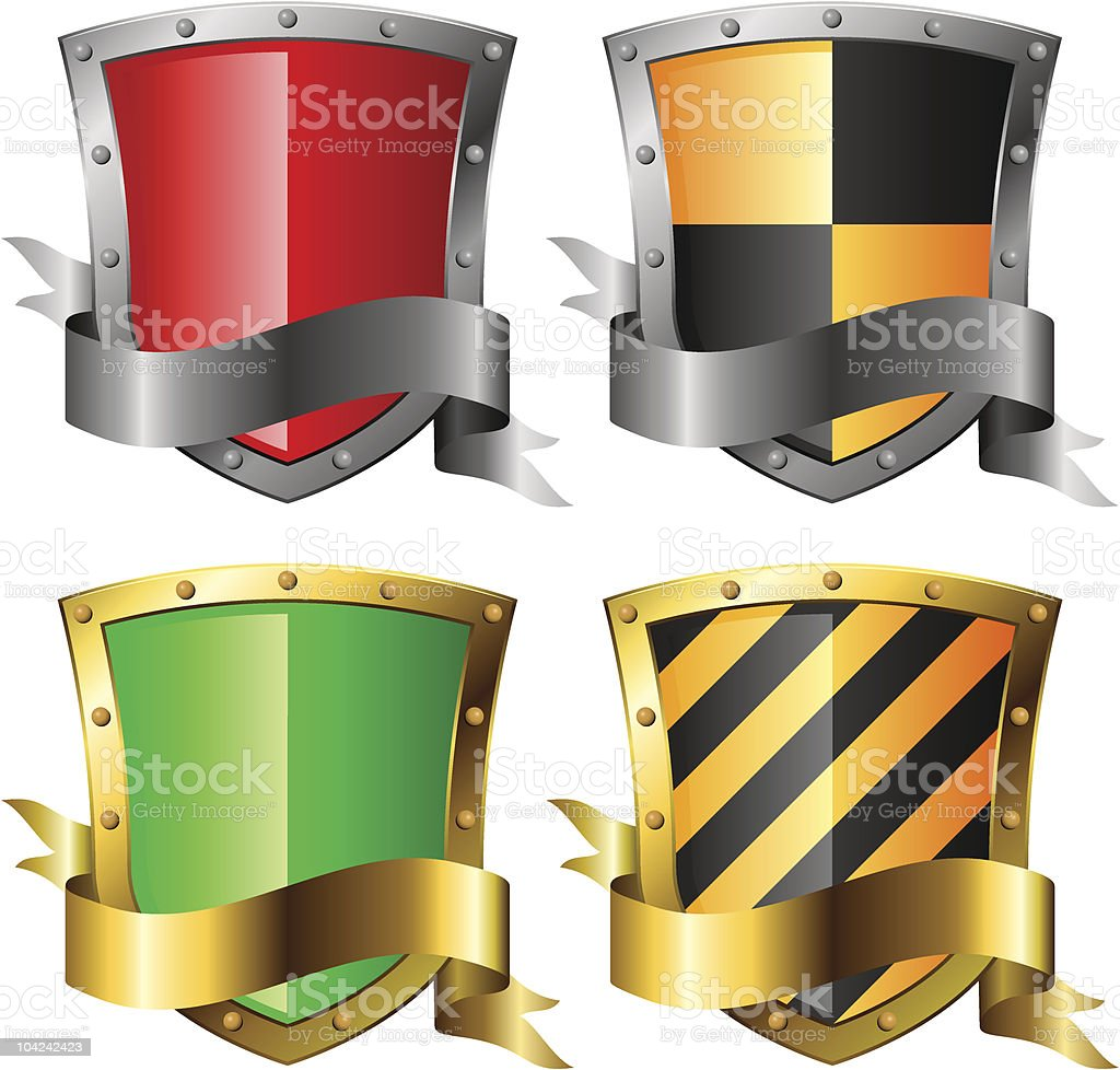 Protection concept icons. royalty-free stock vector art