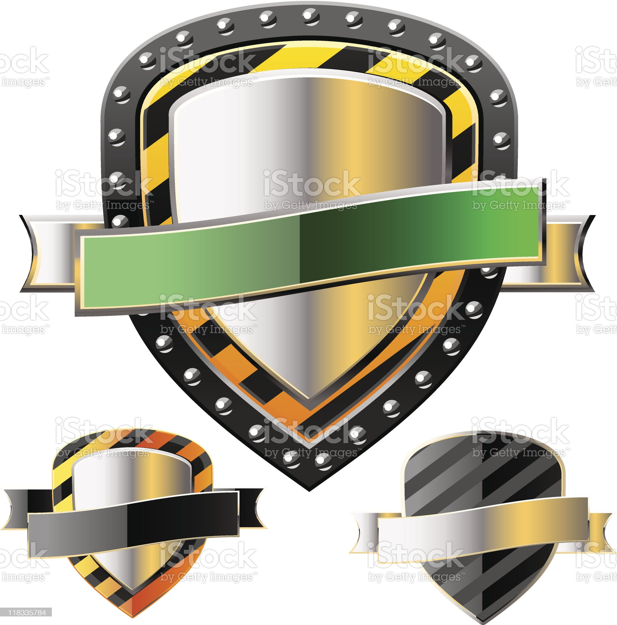 protection shield royalty-free stock vector art