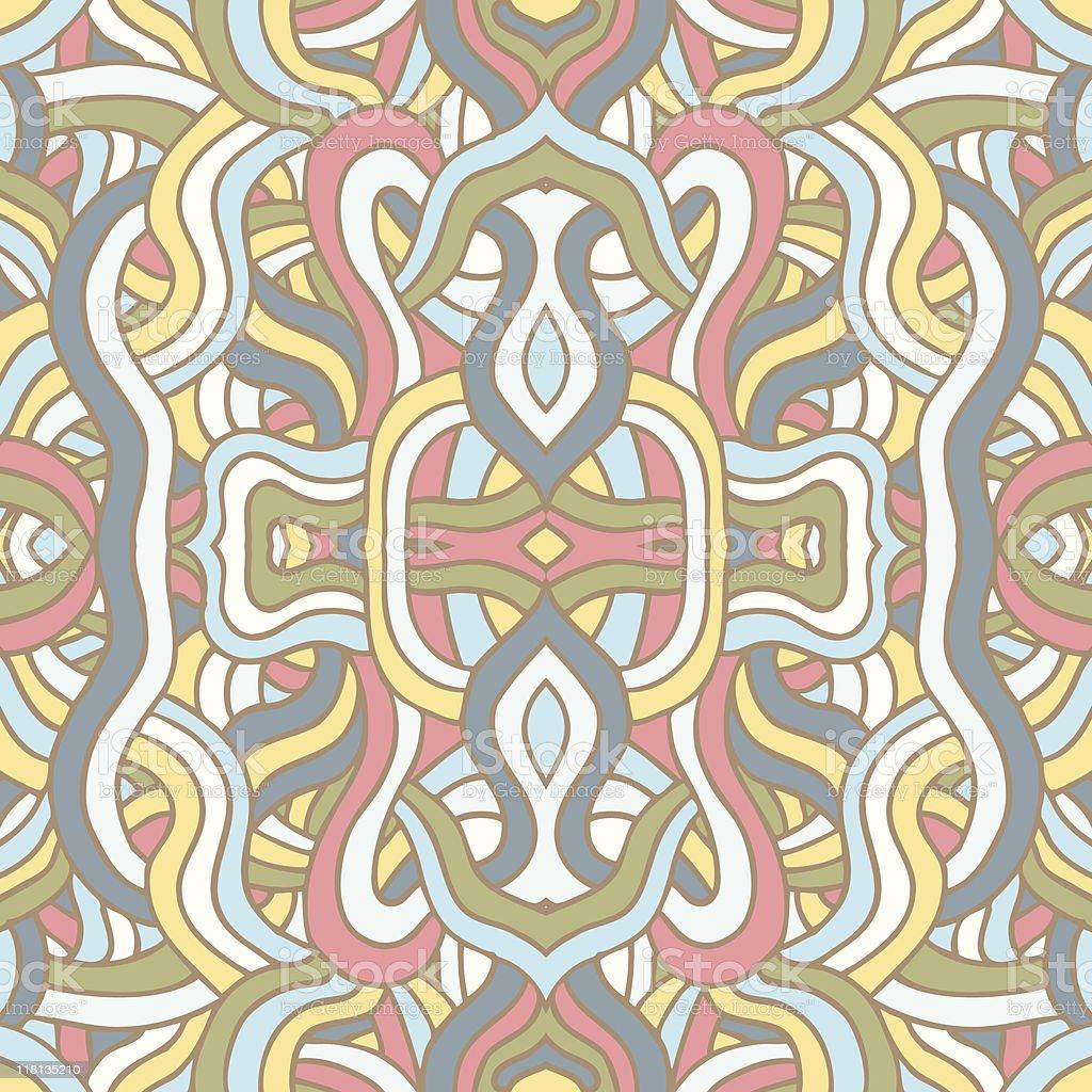 Psychedelic Swigglez royalty-free stock vector art