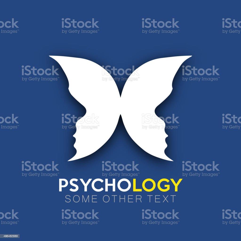Psychology icon design vector art illustration