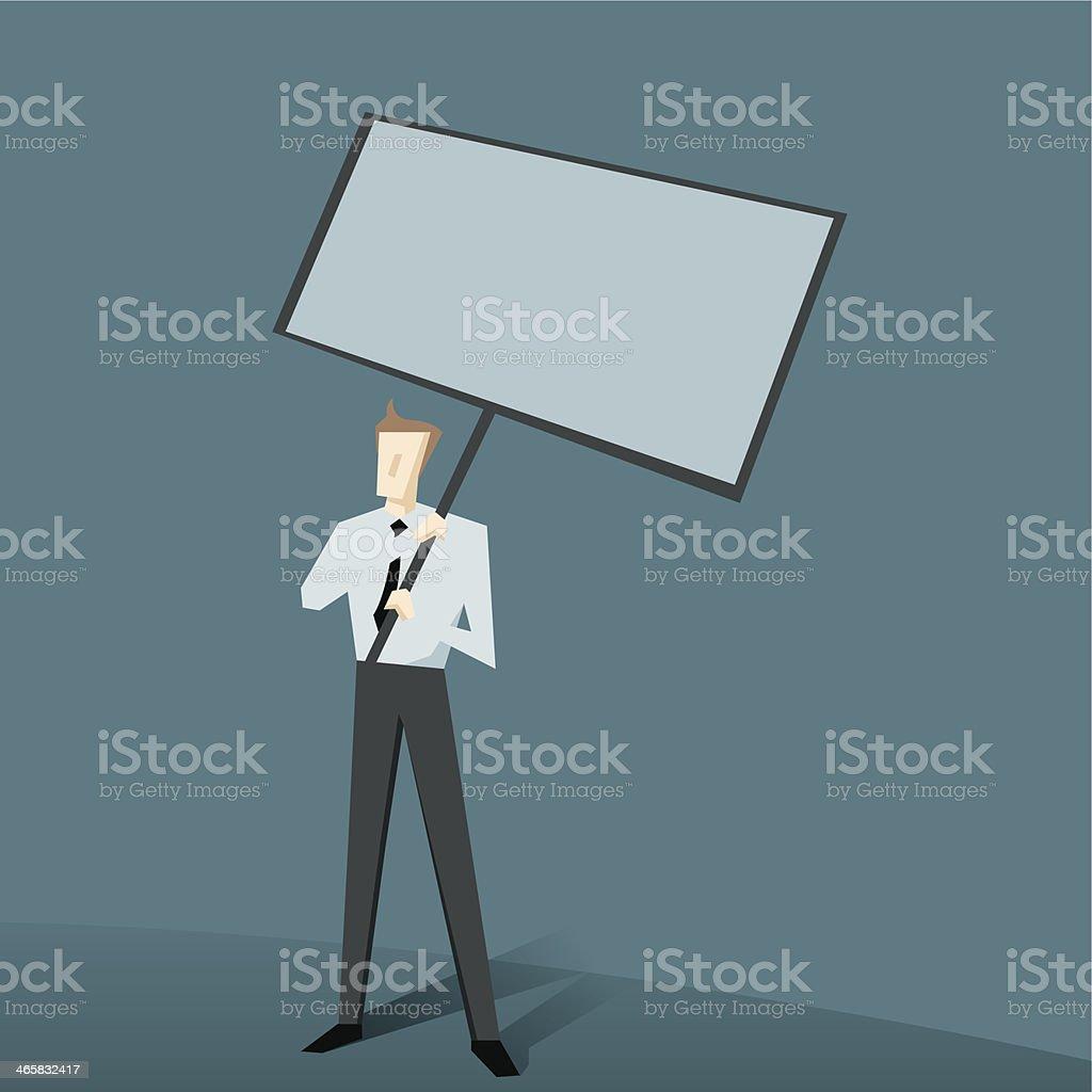 publicize vector art illustration