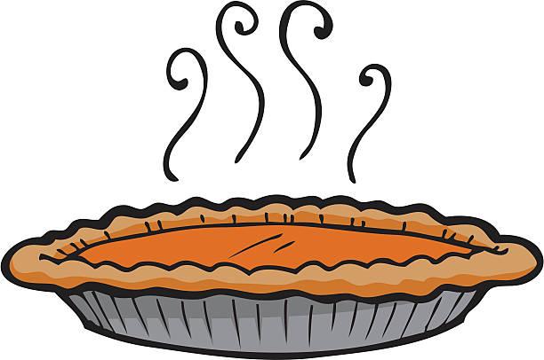 Pumpkin Pie Clip Art, Vector Images & Illustrations - iStock
