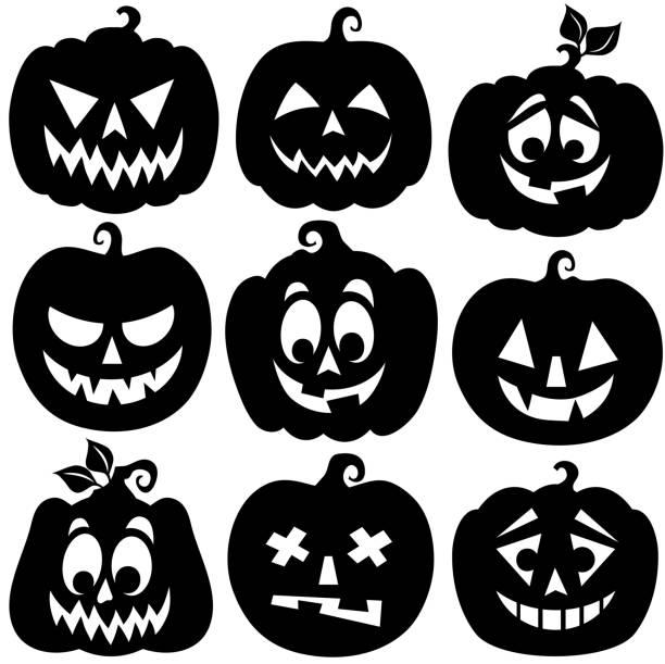 pumpkin clip art vector images  illustrations  istock