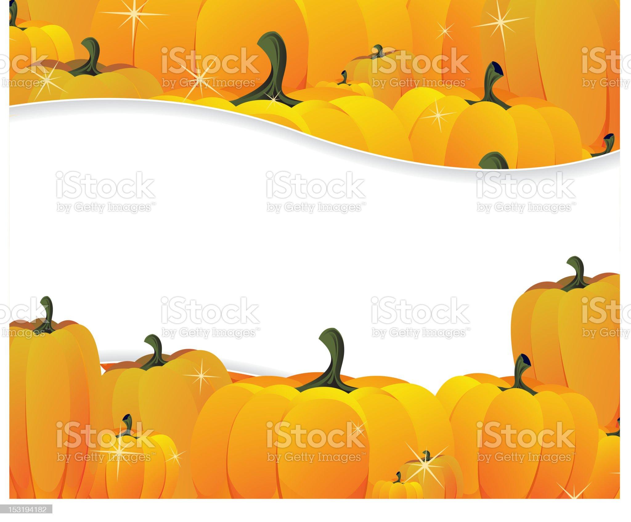 Pumpkins pile royalty-free stock vector art