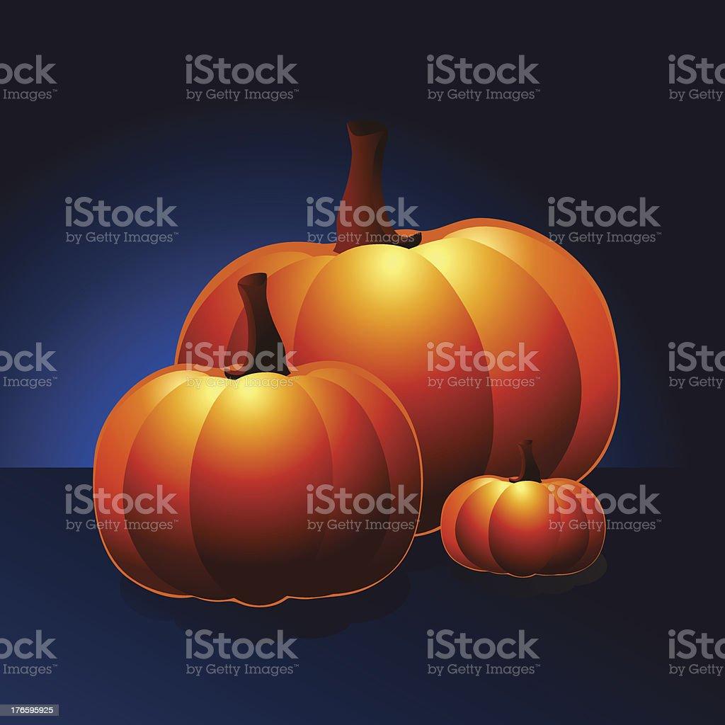 pumpkins royalty-free stock vector art