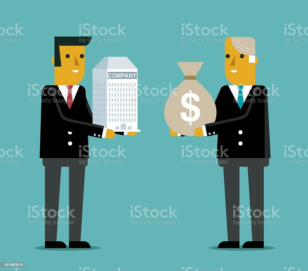 Purchase Company and Business vector art illustration