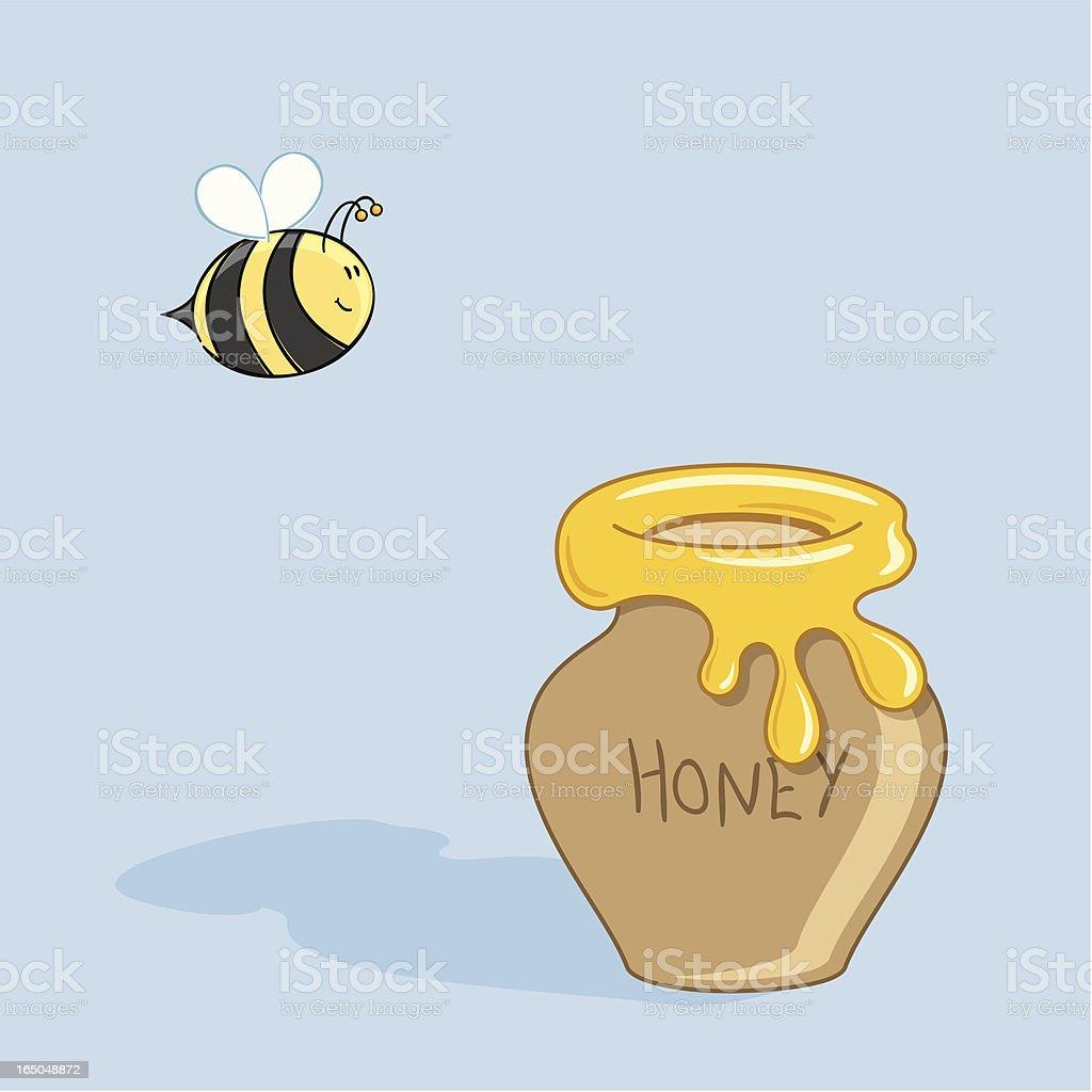 Pure Honey - incl. jpeg vector art illustration