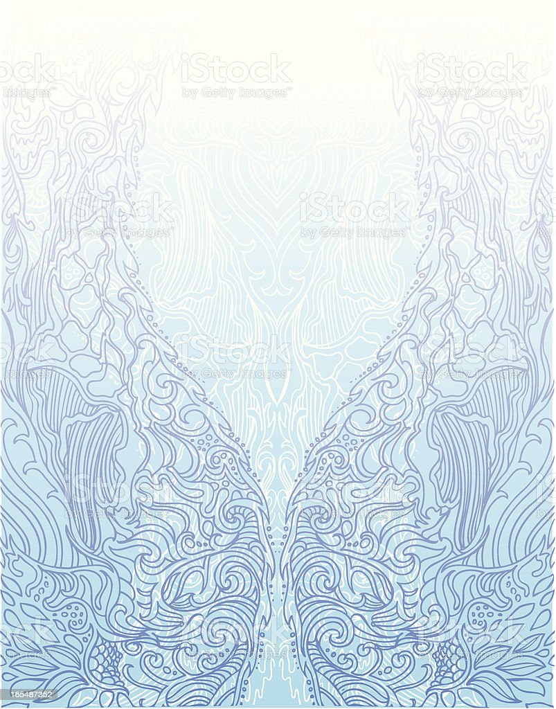 purifying light royalty-free stock vector art
