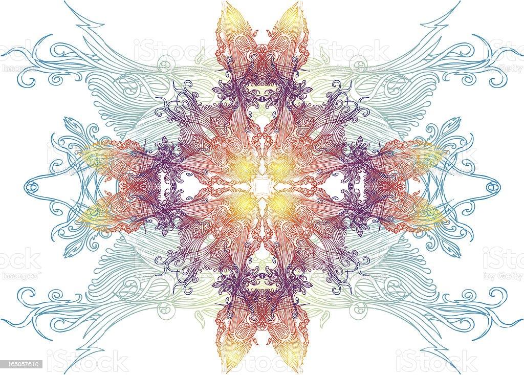purity mandala royalty-free stock vector art
