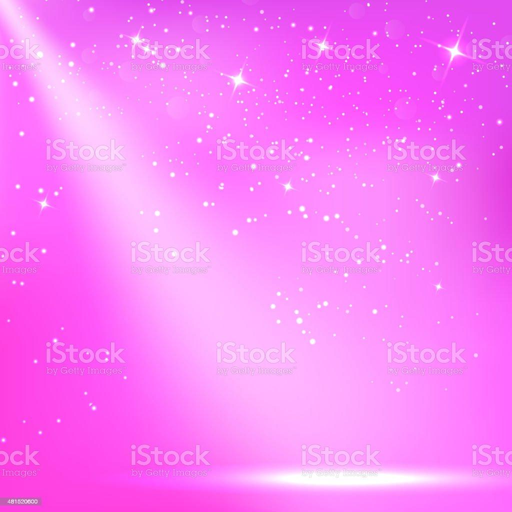 Purple a scenic with spotlight background. Vector illustrations vector art illustration
