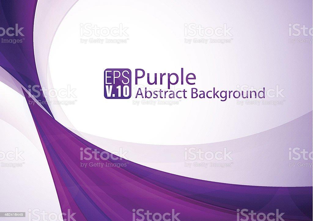 Purple abstract background vector art illustration