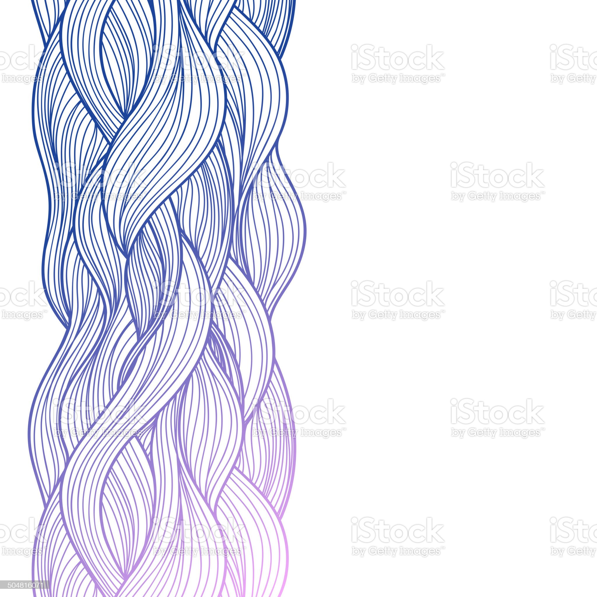 Purple abstract waves background royalty-free stock vector art