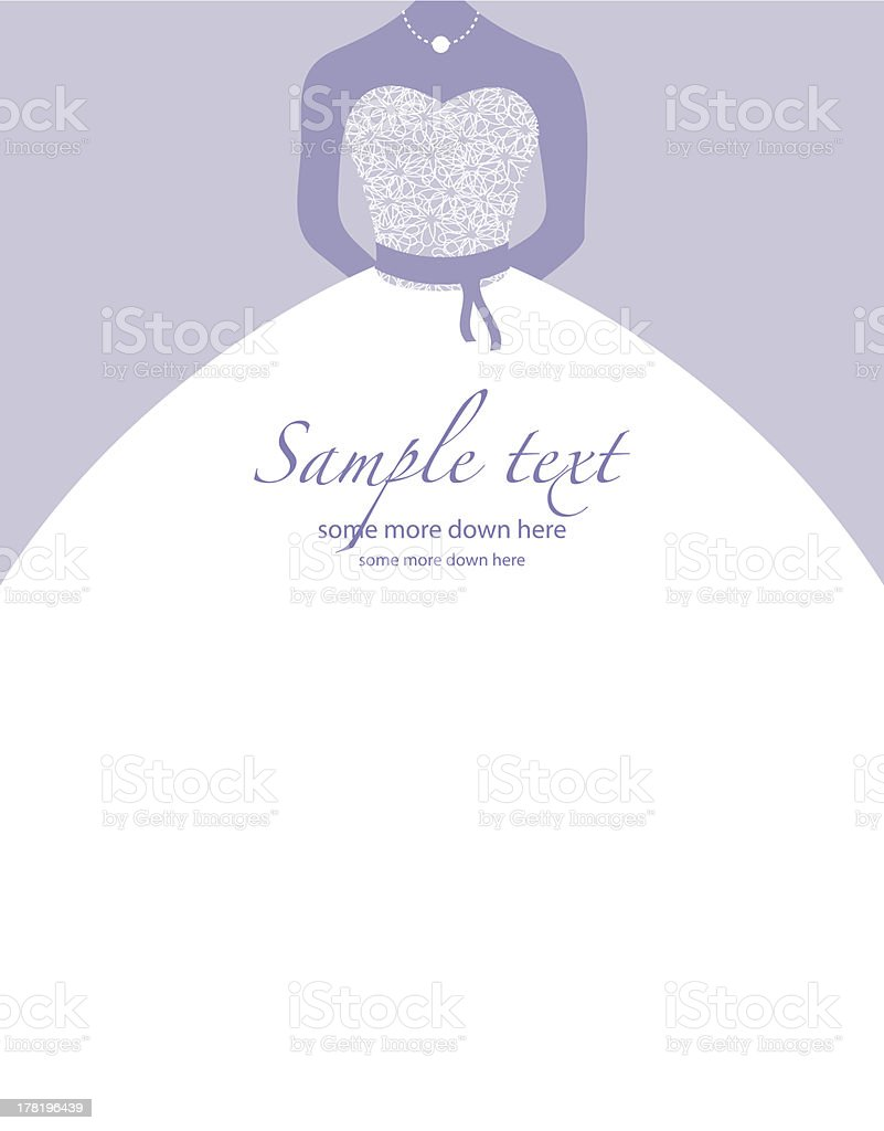 Purple and white minimalistic wedding background vector art illustration